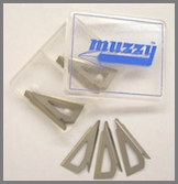 Muzzy 3-Blade Replacement Blades For 225-MX3-3  (320-MX3)