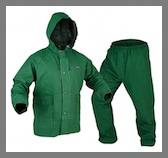 Adult PVC/Polyester Rainsuit