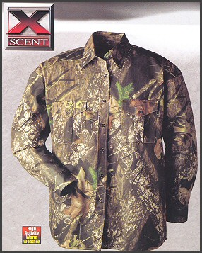 Camo Hunting Shirt L Weight