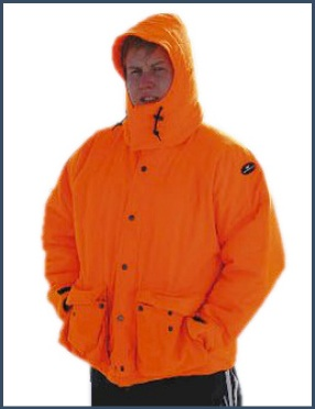 Blaze Orange Hunting Jacket