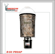 50 LB. HANGING FEEDER W/R-KIT PRO / REALTREE AP CAMO
