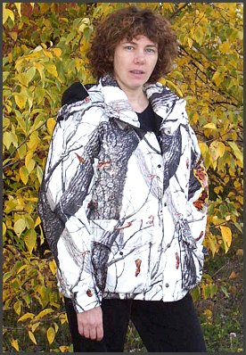 Snow Camoflauge Jacket